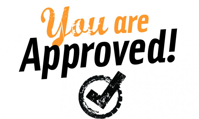 You Are Approved!